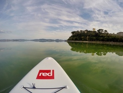 Lago  Trasimeno paddle board spot in Italy