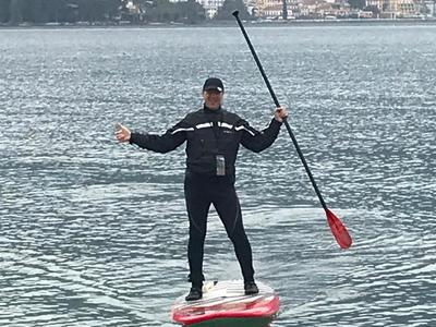 Porto Portese spot de stand up paddle en Italie