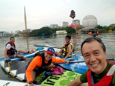 Putrajaya Lake Club spot de stand up paddle en Malaisie