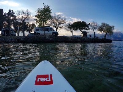 Rocca di Manerba sitio de stand up paddle / paddle surf en Italia