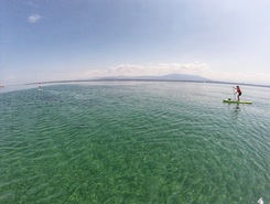Coppet spot de stand up paddle en Suisse