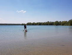 Lac de la foret d'Orient spot de stand up paddle en France