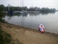 Port Alleriot paddle board spot in France