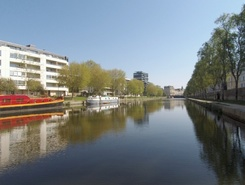 Rennes Centre ville spot de stand up paddle en France
